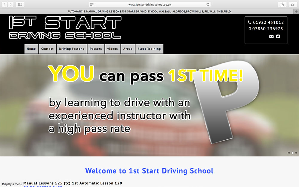 1st Start Driving School