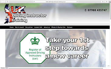 Uk Driving Instructor Training
