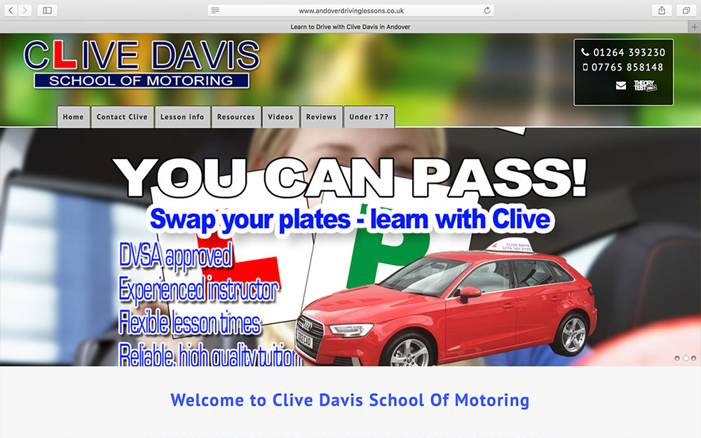 Clive Davis School of Motoring