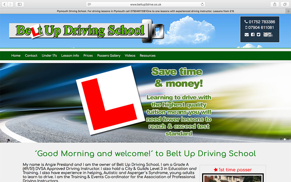 Belt Up Driving School
