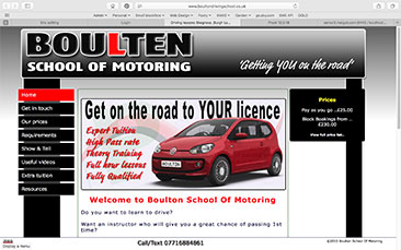 Boulton School Of Motoring