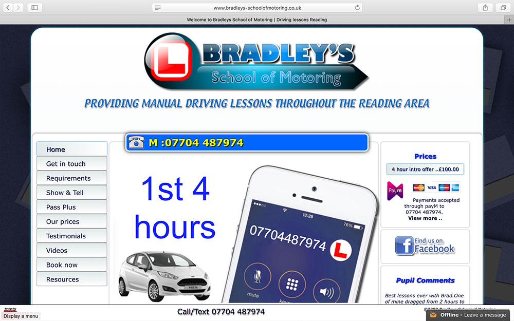 Bradleys School of Motoring