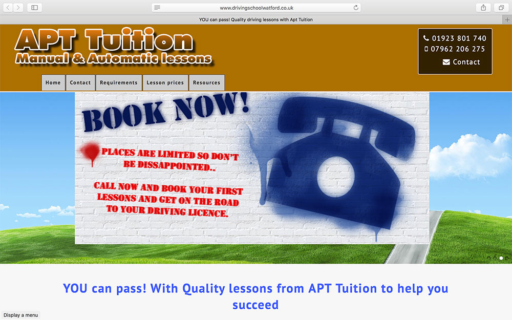 Apt Tuition-in-Hertfordshire