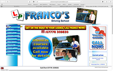 Franco's Driving School-in-Bedfordshire