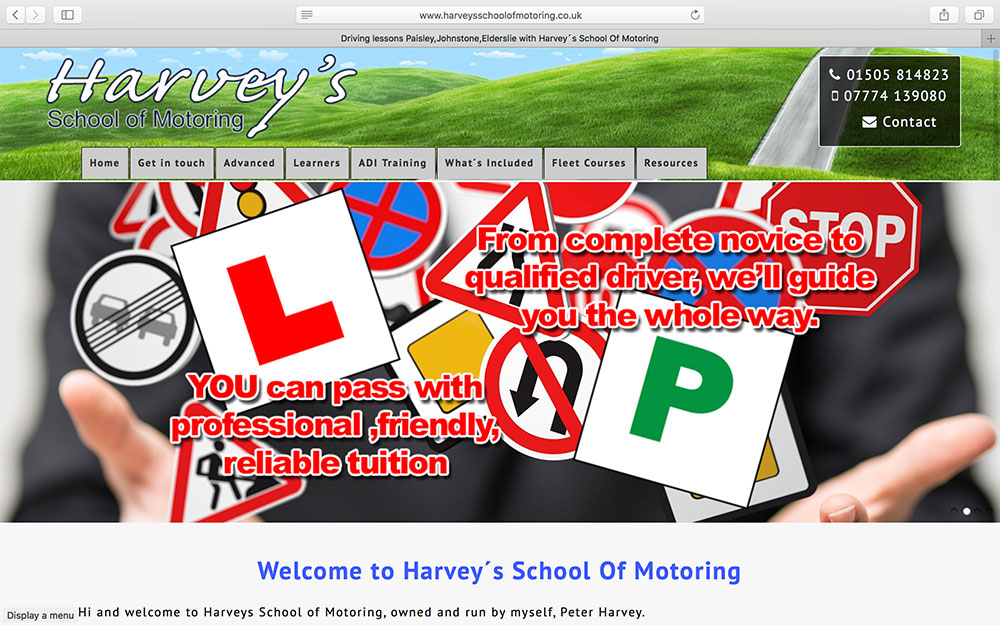 Harvey's School of Motoring