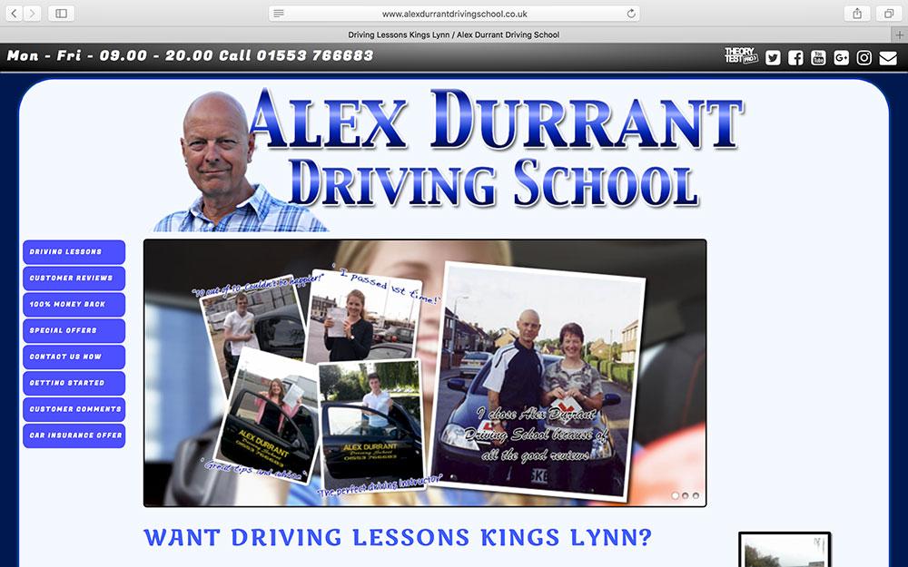 Alex Durrant Driving School