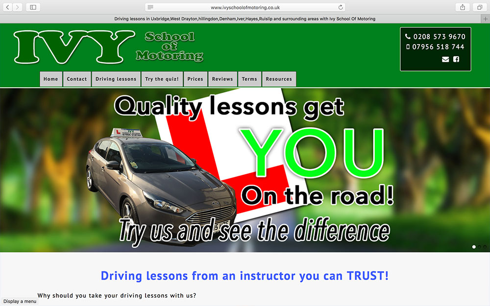 Ivy School Of Motoring