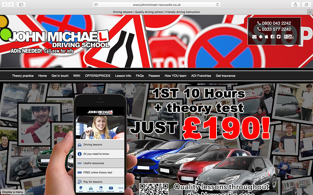 John Michael Driving School-in-Newcastle