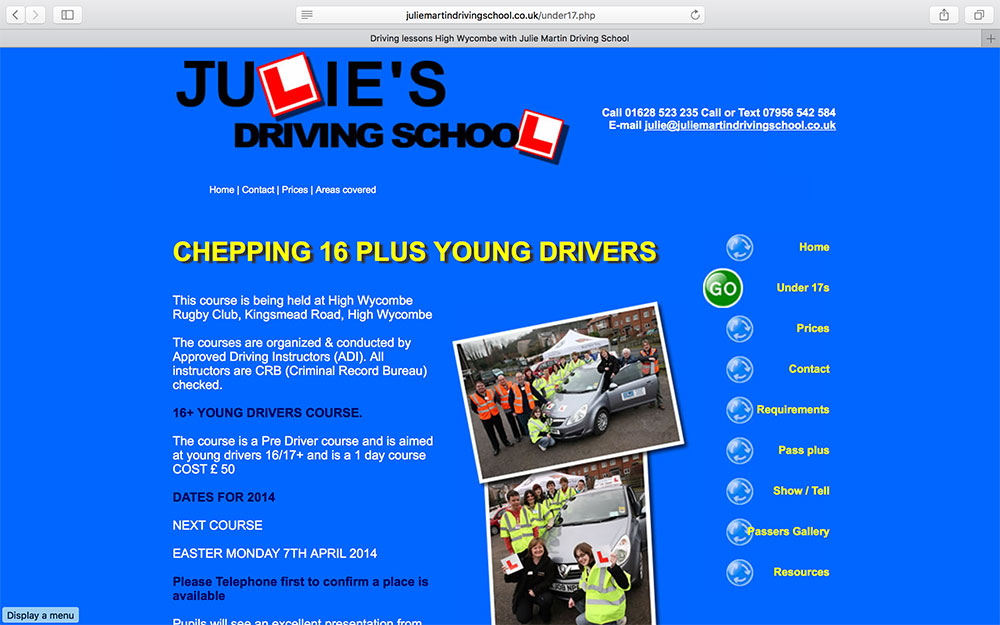 Julie Martin Driving School