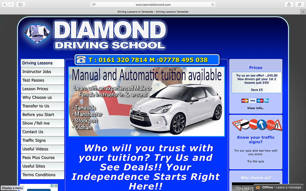 Diamond Driving School