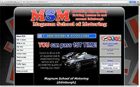 Magnum Driver Training-in-Midlothian