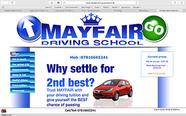 Mayfair School Of Motoring-in-London