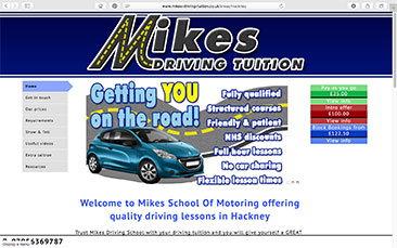 Mikes School Of Motoring-in-London