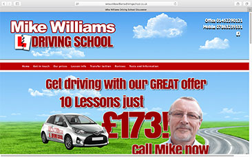 Mike Williams Driving School-in-Gloucestershire