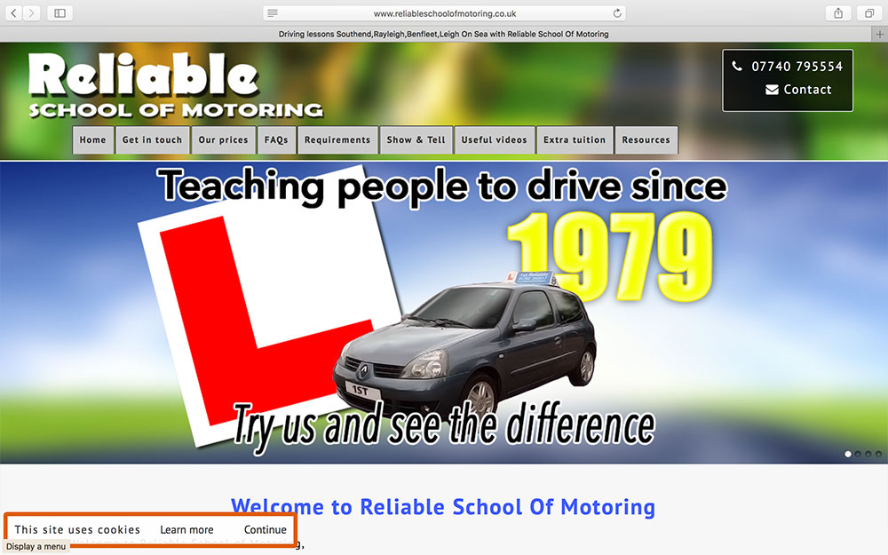 Reliable School of Motoring