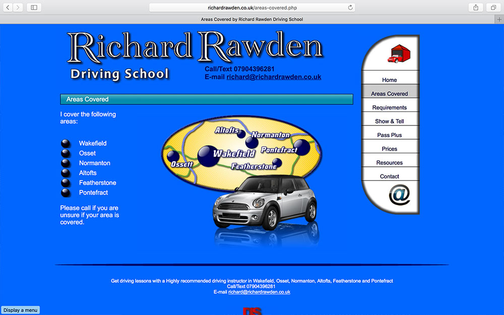Richard Rawden Driving School