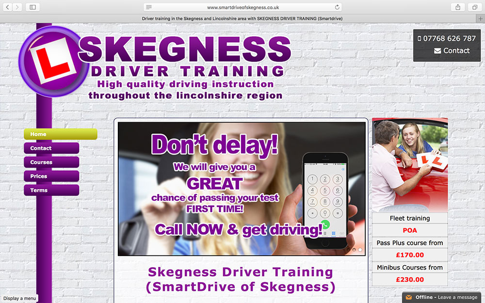 Skegness Driver Training  (SmartDrive)