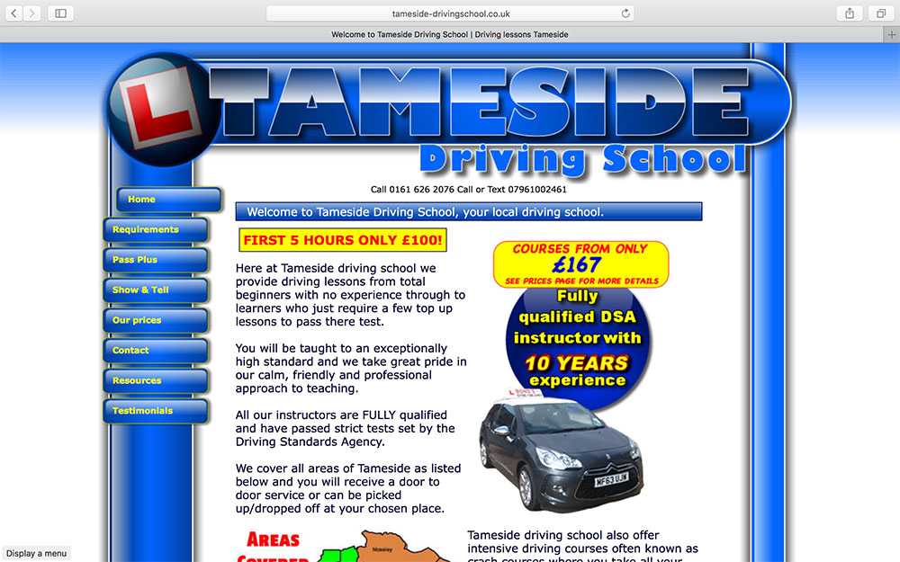 Tameside Driving School