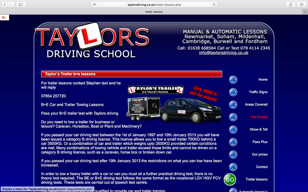 Taylors Driving School