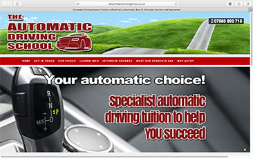 The AUTOMATIC DRIVING SCHOOL