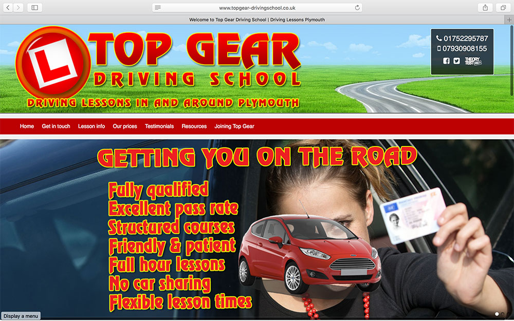 Top Gear Driving School-in-Devon