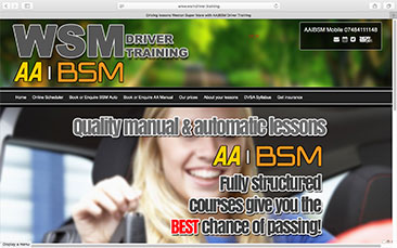 WSM Driver Training