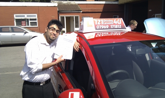 I have taken driving lessons from Lincoln and would recommend him to anyone who wants to learn driving I passed very easily <br /> <br /> <br /> <br /> All the lessons were very detailed and he made sure that all the manoeuvres were well practised before the driving test Lincoln has a lot of patience and I feel that anyone who is learning to drive for the first time should contact him