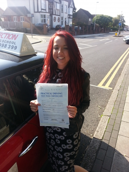 Cindy passed in Hornchurch She drove fantastically and can now drive her own little pink smart car as long as your not getting juiced upEnjoy your driving