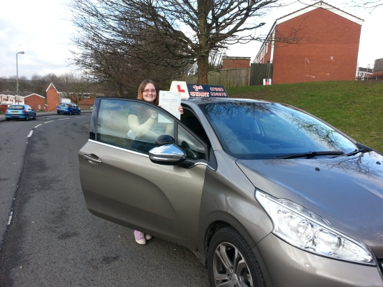 Congratulations on passing your driving test well done