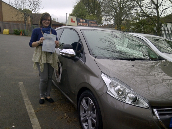 Well done Zoe passed 5 minors congratulations