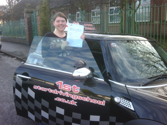 Well done on passing with 4 minor faults