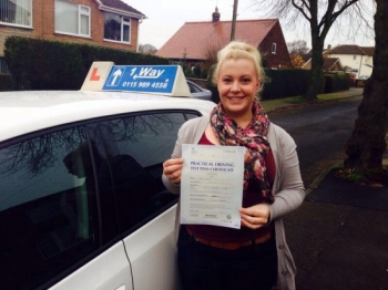 Amy White From Mapperley