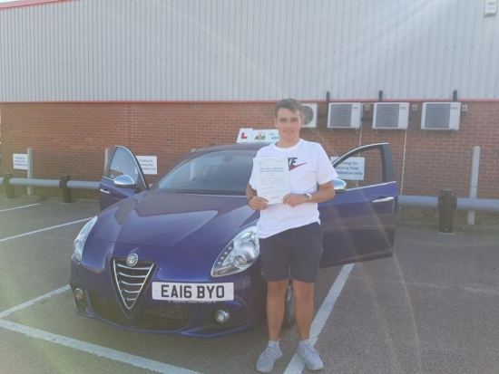 A first time pass and only two minors for this student!