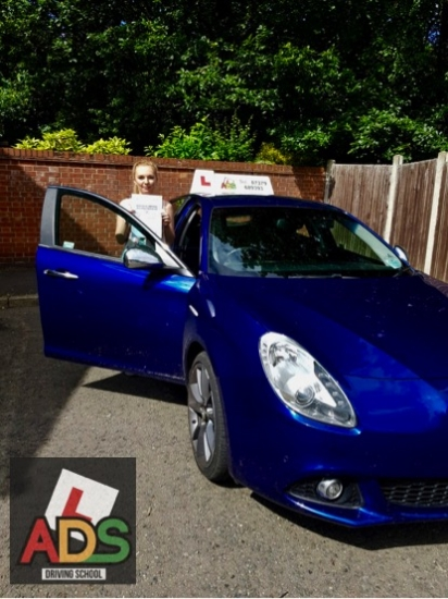 Great pass with 3 minors for this student!