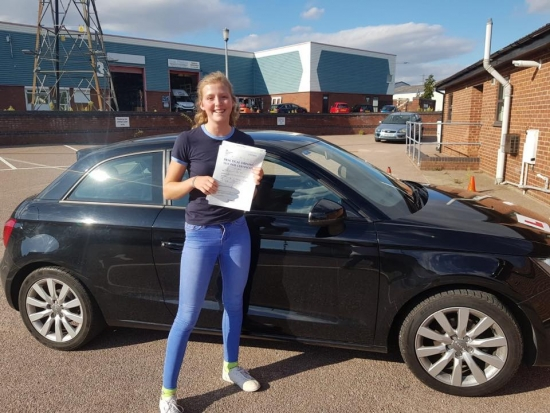 Fantastic first time pass!