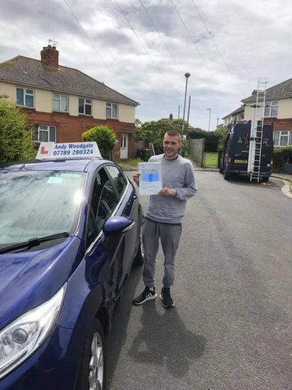 Andy is an excellent and very professional driving instructor. Very patient, understanding, easy to talk to and a great teacher. Andy helped enormously with my confidence and helped me to pass first time. Would highly recommend Andy to anyone learning to drive. Brilliant instructor and a top bloke.