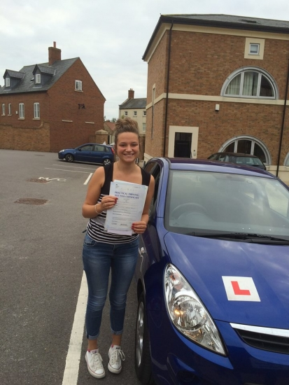 Well done Emma - 5 minor driving faults