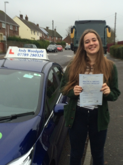 Well done Fran - Only 4 minor faults