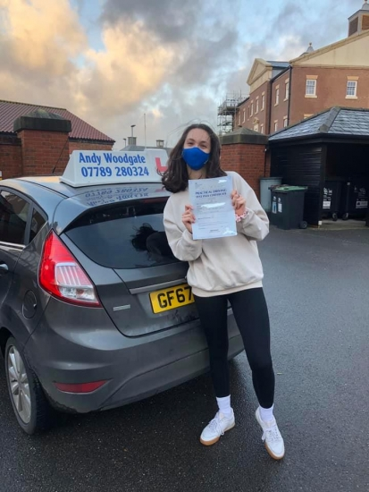 Couldn't recommend Andy enough. He's everything you need in a driving instructor; great teacher, supportive, patient and a good laugh. He was able to get my confidence and ability up in no time. I've had a few instructors before and Andy is by far the best, he really goes the extra mile. Thank you Andy!!!😊