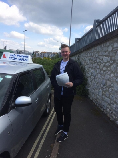 Great Instructor would 100 recommend<br /> <br /> Passed my driving test first time today Andy has been such a great help from the very start he is a calm instructor and views his students as friends He is very approachable and has a great sense of humour making driving a fun experience I would recommend Andy to anyone looking to start driving as he is patient and a very good instructor<br /> <br /> <br /> <br /> Thank yo