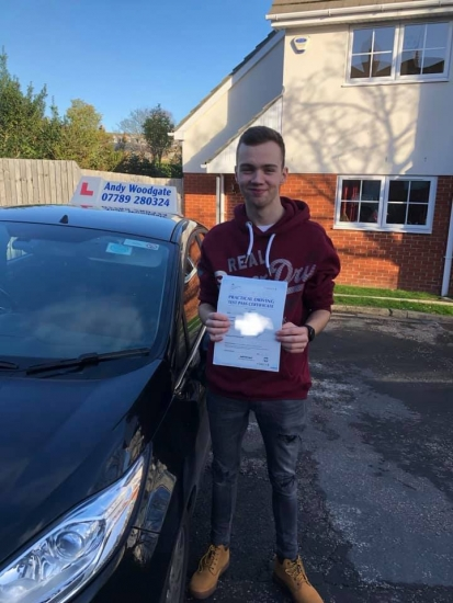 1st time pass 2 minors, 28 hours of instruction<br />