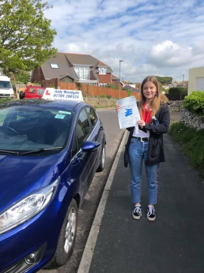 Andy is an excellent driving instructor. He put me at ease by being very patient and thorough in his teaching. I would highly recommend Andy Woodgate for learning to drive - I passed first time! :)