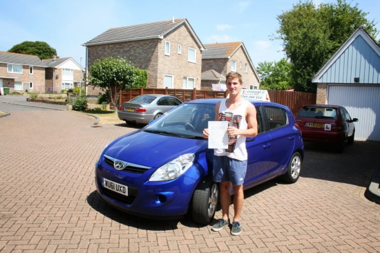 Lewis passed with 6 faults