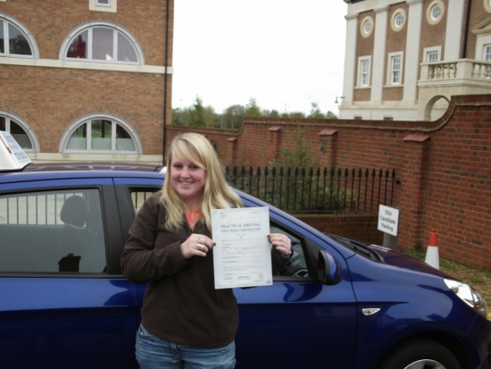Vicky passed with 4 minor faults