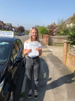 An amazing driving instructor, passed first time with only two minors. Couldn't of passed so quick with any other instructor!