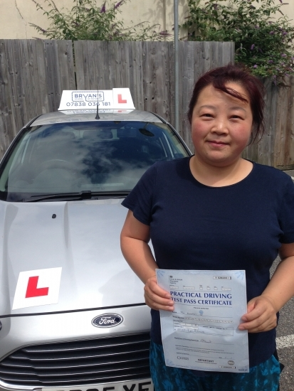 582016<br /> <br /> Congratulations to Dongmei Ye on passing her test first time after a prolonged test lasting 55 minutes