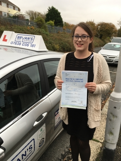 15112016<br /> <br /> Many congratulations to Linzie Collins on passing her driving test first time this afternoon may you have many safe journeys🚗🚗