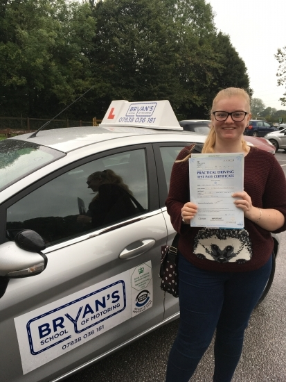 7102016<br /> <br /> Many congratulations to Rachel Clifton on passing her test this morning another safe and confident driver on the roads