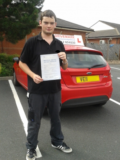 Well done Alistair Passed your driving test first time today with only 3 minor faults All the hard work was worth it Drive safe mate