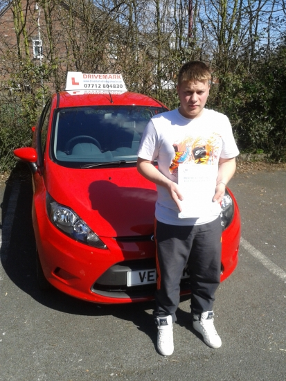 Nice one Ash passed your driving test first time today Told you you could do it well deserved youacute;ve been a great pupil to teach Drive Safe mate